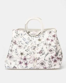 Fiorelli Stella Metal Circle Handle Grab Bag Hampton Cream