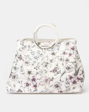 b9ce4e602c Fiorelli Stella Metal Circle Handle Grab Bag Hampton Cream