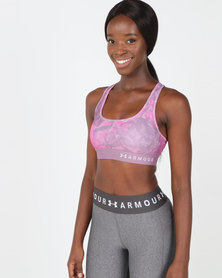 Under Armour Crossback Printed Sports Bra