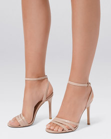 Forever New Sydney Strappy Pointed Heels Blush