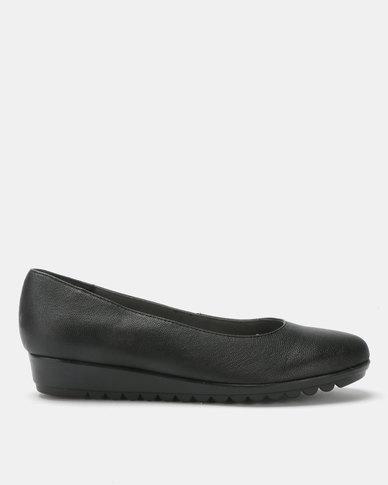 Froggie Candy Slip On Flats Black