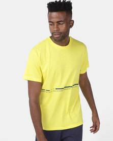 Puma Performance Energy Triblend Tee Yellow