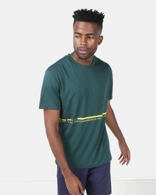 Puma Performance Energy Triblend Tee Green