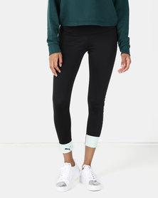Modern Sports Fold Up Legging Black