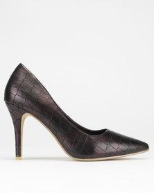 Dolce Vita Essence Court Heels Bronze Croc