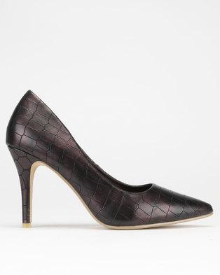 42570343566b Dolce Vita Essence Court Heels Bronze Croc
