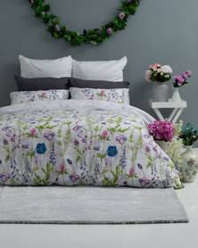Horrockses Botany Blooming Duvet Cover Set