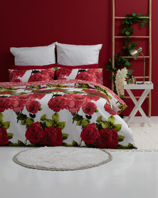 Horrockses Opulant Roses Duvet Cover Set