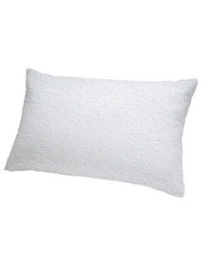 Lush Living - Premium Comfort Terry Pillow Protector - White