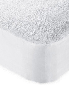 Lush Living - Terry Mattress + Pillow Protector Bundle - White