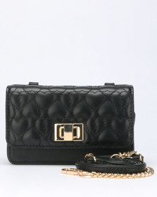 Call It Spring Arroww Purse Black