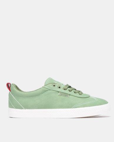 Light Low Wing Cap Green Sneaker