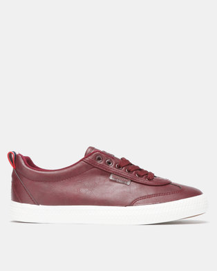 e2e24e20457 Light Low Wing Cap Burgundy Sneaker