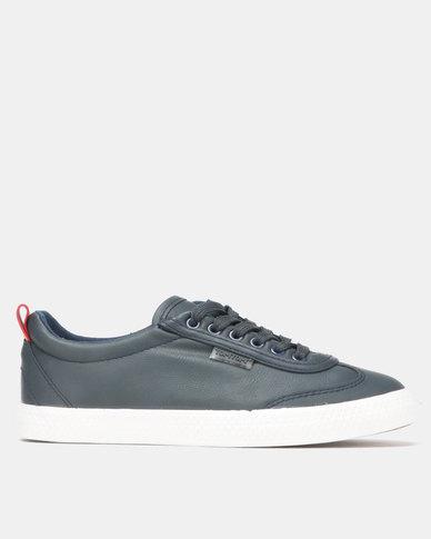 Light Low Wing Cap Navy Sneaker