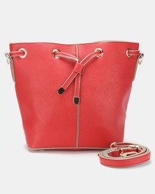 Urban Kulture Bucket Bag Red