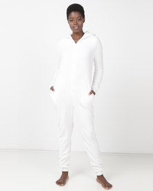 Brave Soul Loose Fit Polar Bear Onesie