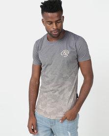Crosshatch Prenzlau Camo Sublimation T-Shirt Green