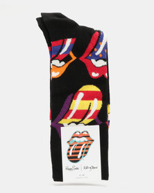 Happy Socks Rolling Stones Out Of Control Socks Multi