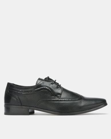 Franco Ceccato Formal Lace Up Black