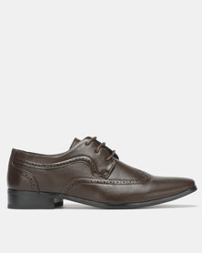 Franco Ceccato Formal Lace Up Brown