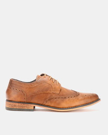 Franco Ceccato Formal Lace Up Tan