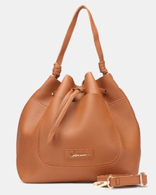 Seduction Bucket Bag TAN