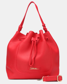 Seduction Bucket Bag RED