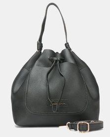 Seduction Bucket Bag Black