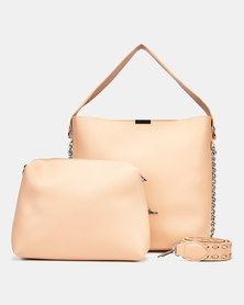 Seduction Two Piece Shopper Bag BEIGE