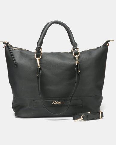Seduction Shoulder Bag BLACK
