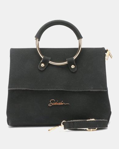 Seduction Ring Handle CrossBoyd Bag BLACK