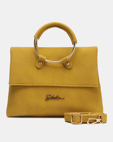 Seduction Ring Handle CrossBoyd Bag MUSTARD