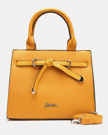 Seduction Bow Hanbag MUSTARD