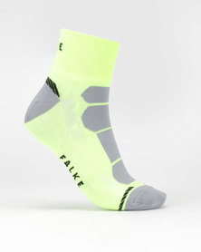 Falke Performance Falke Pro Cycle Anklet Unisex Neon Lime & Grey