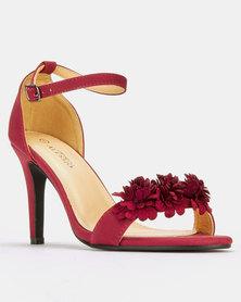 f1256cbdd9f Franco Ceccato Block Heeled Sandals Yellow
