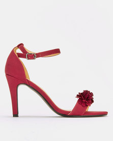 Franco Ceccato Heeled Sandals Burgundy