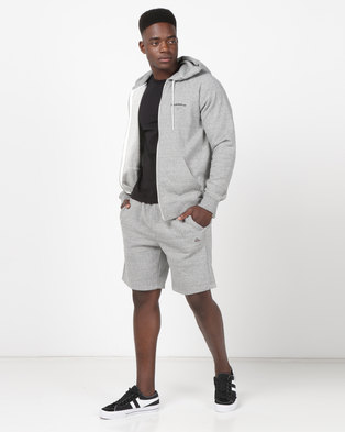Quiksilver Everyday Track Shorts Light Grey Heather