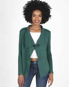 Revenge Waterfall Jacket Dark Green