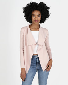 Revenge Waterfall Jacket Blush