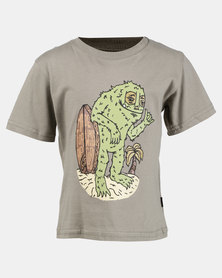 Rip Curl Bay Monster Tee Mid Green
