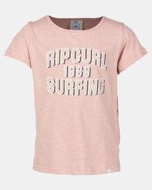 Rip Curl Essential Surf Tee Blush