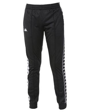 Kappa 222 Banda Arib Slim Pants Black