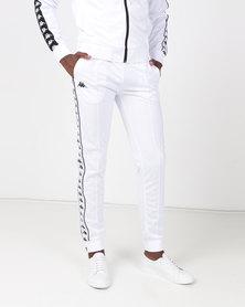 Kappa 222 Banda Arib Slim Pants White