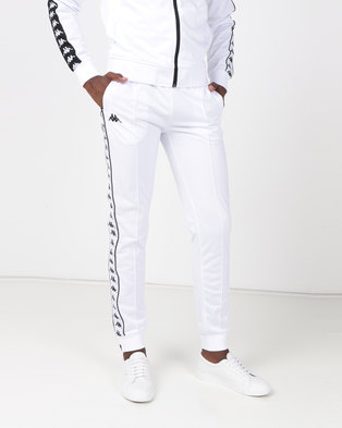 Kappa 222 Banda Arib Slim Pants White