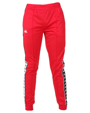 Kappa 222 Banda Arib Slim Pants Red