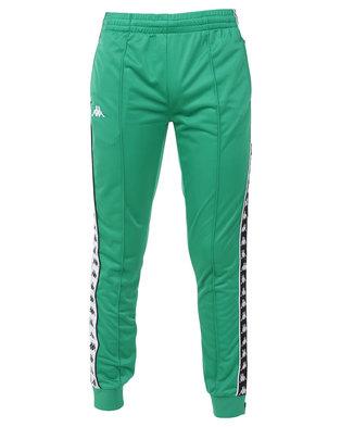 Kappa 222 Banda Arib Slim Pants Green