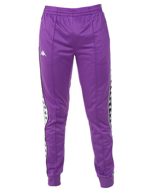 Kappa 222 Banda Arib Slim Pants Purple