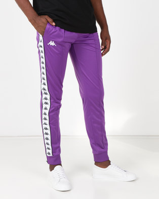 Kappa 222 Banda Arib Slim Pants Purple