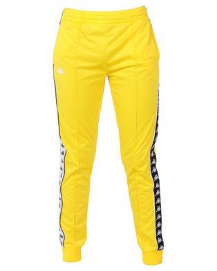 Kappa 222 Banda Arib Slim Pants Yellow