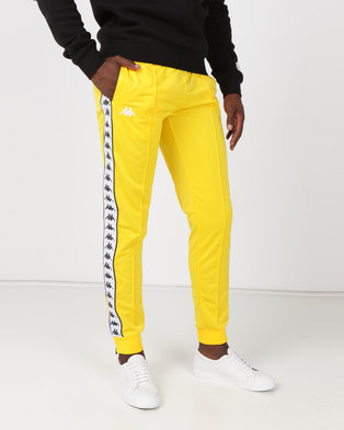 Kappa 222 Banda Arib Slim Pants Yellow